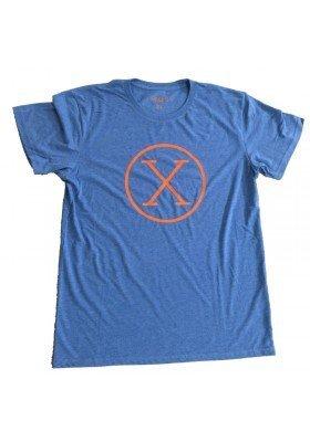 Camiseta X Azul