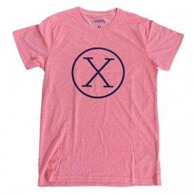 Camiseta X Coral