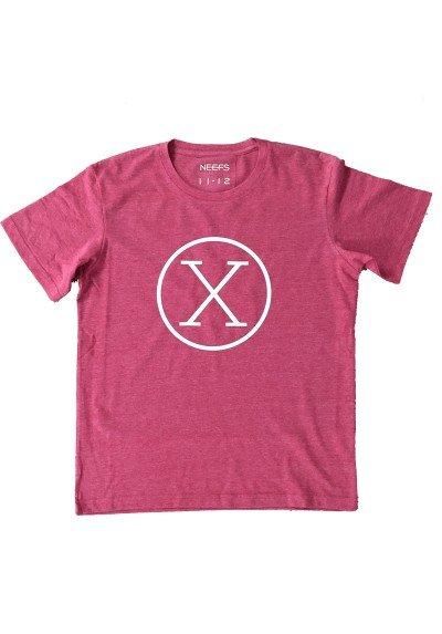 Camiseta X Roja Niño