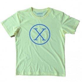 Camiseta X Amarilla Niño
