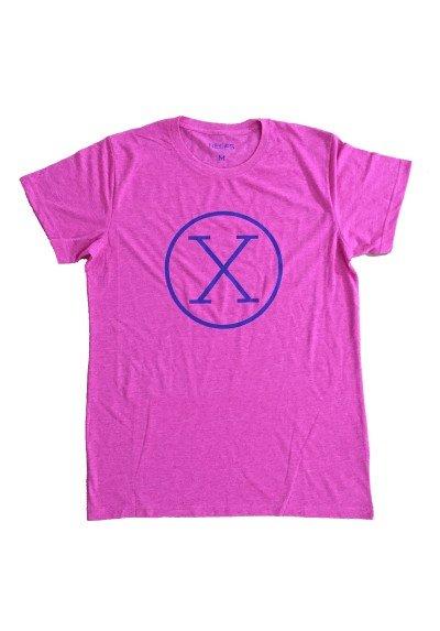 Camiseta X Fucsia