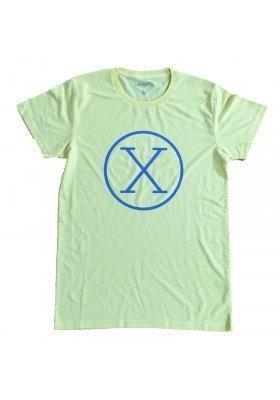 Camiseta X Amarilla