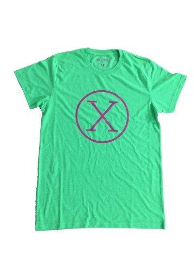 Camiseta X Verde