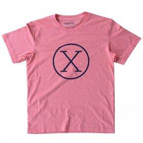 Camiseta X Coral Niño