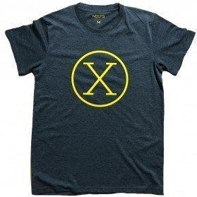 Camiseta X Antracita