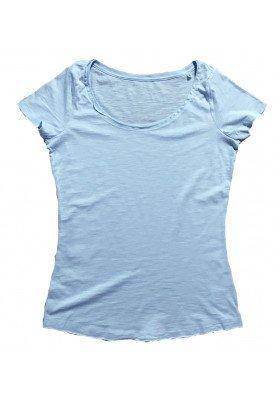 Camiseta DENIM Celeste Mujer