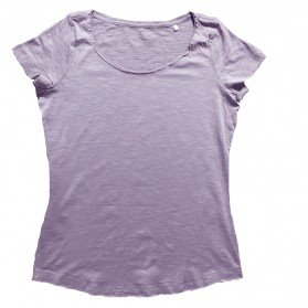 Camiseta DENIM Rosa Mujer