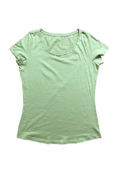 Camiseta DENIM Verde Mujer