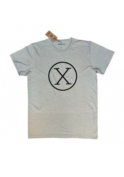 Camiseta X Gris Claro